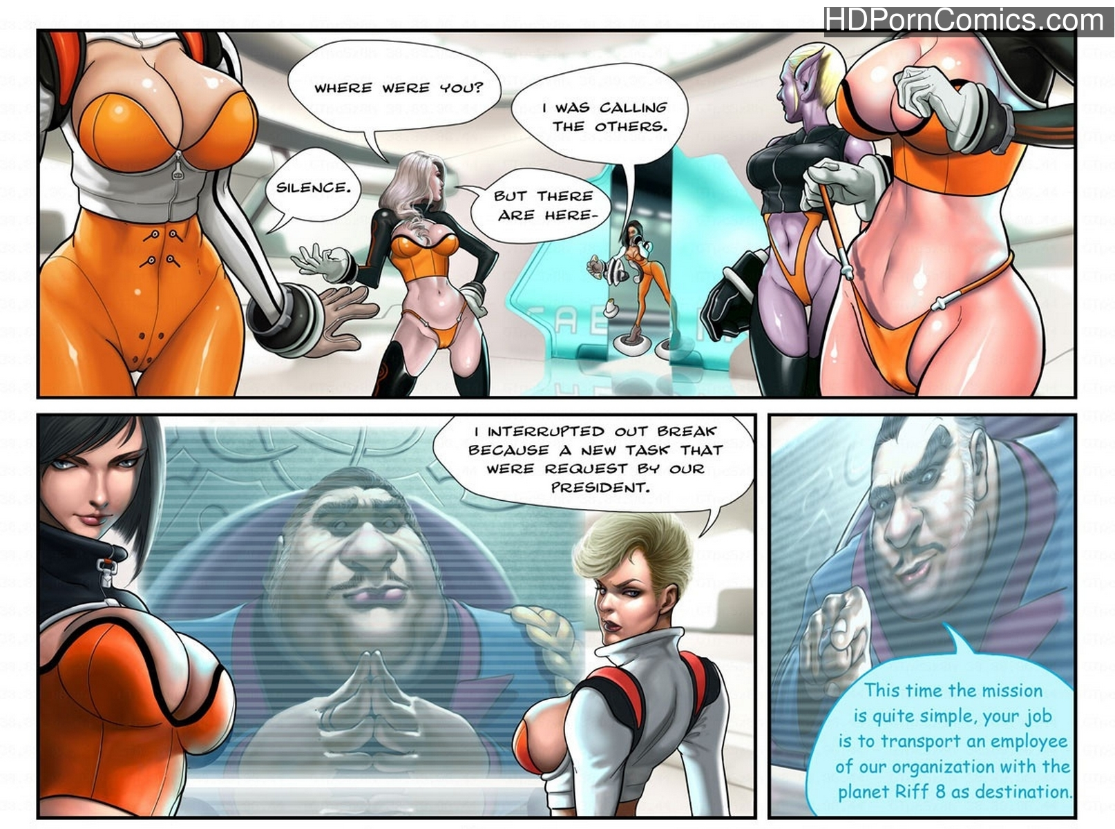 Captain Space11 free sex comic