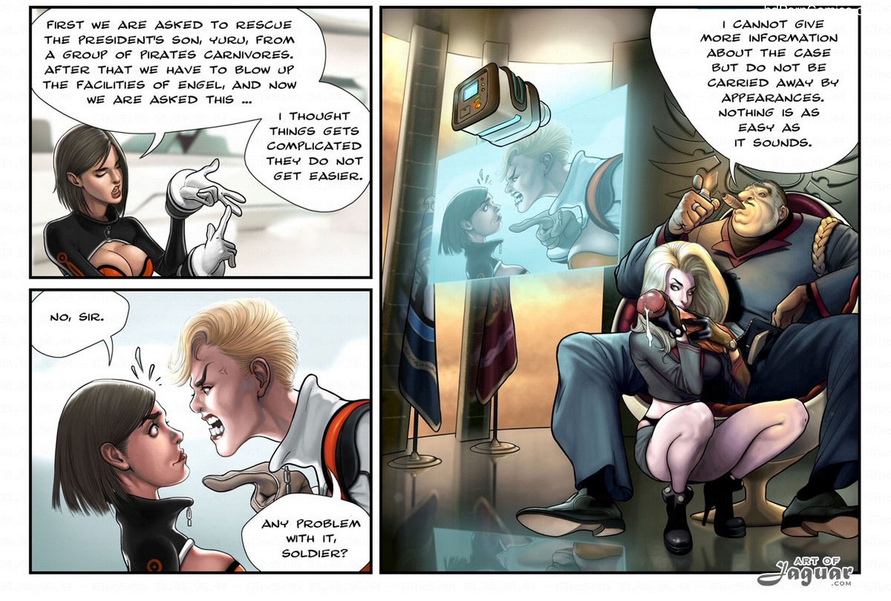 Captain Space12 free sex comic