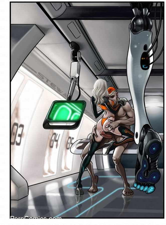 Captain Space3 free sex comic