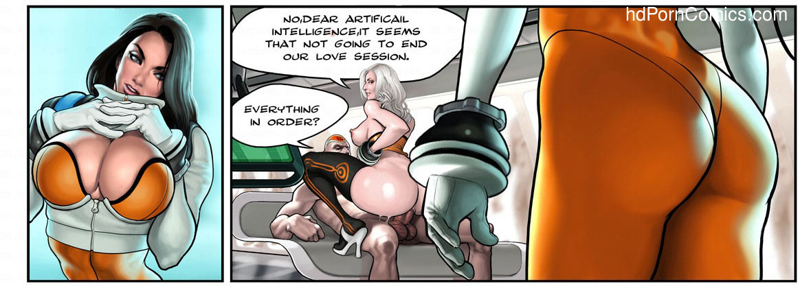 Captain Space9 free sex comic