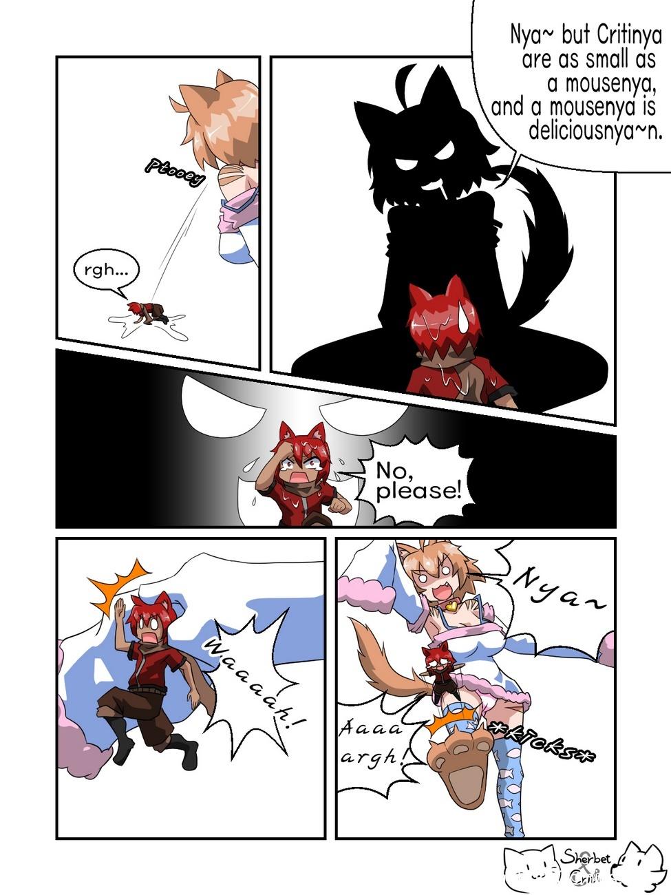 Cats Behavior 4 free sex comic