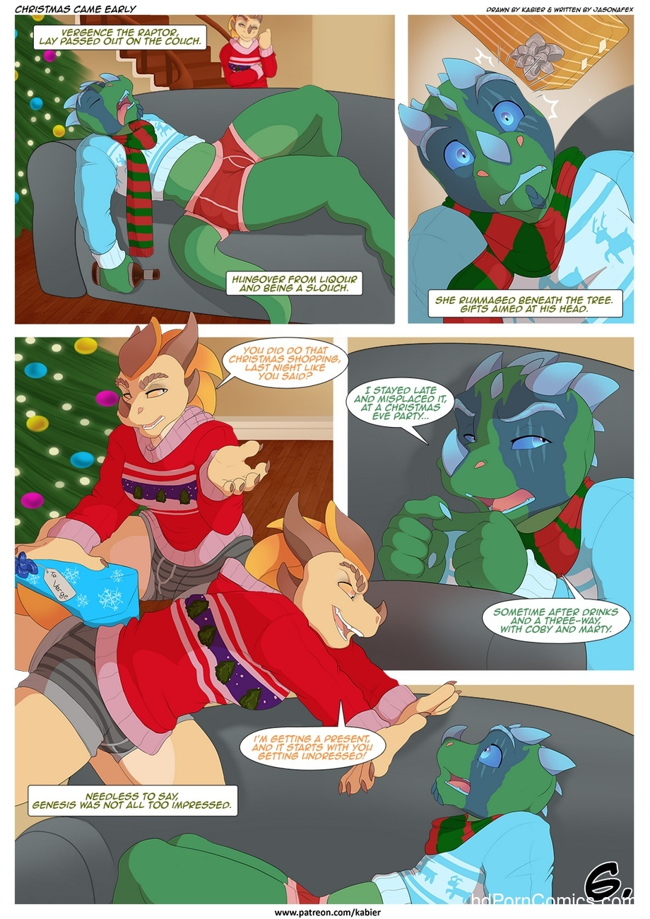 Christmas Came Early 7 free sex comic