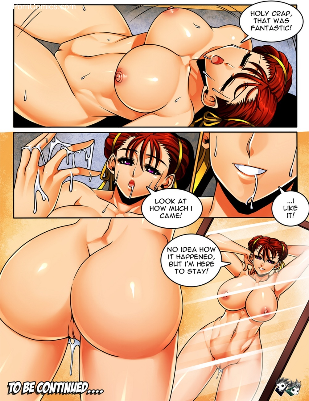 Chun-Li Body Swap Sex Comic