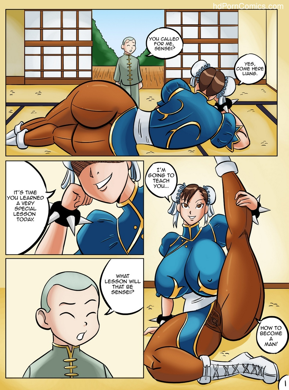 Chun-Li's Private Lesson 2 free sex comic