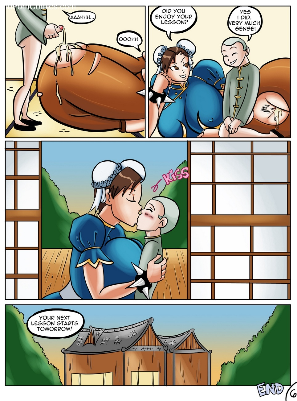 Chun-Li's Private Lesson 7 free sex comic