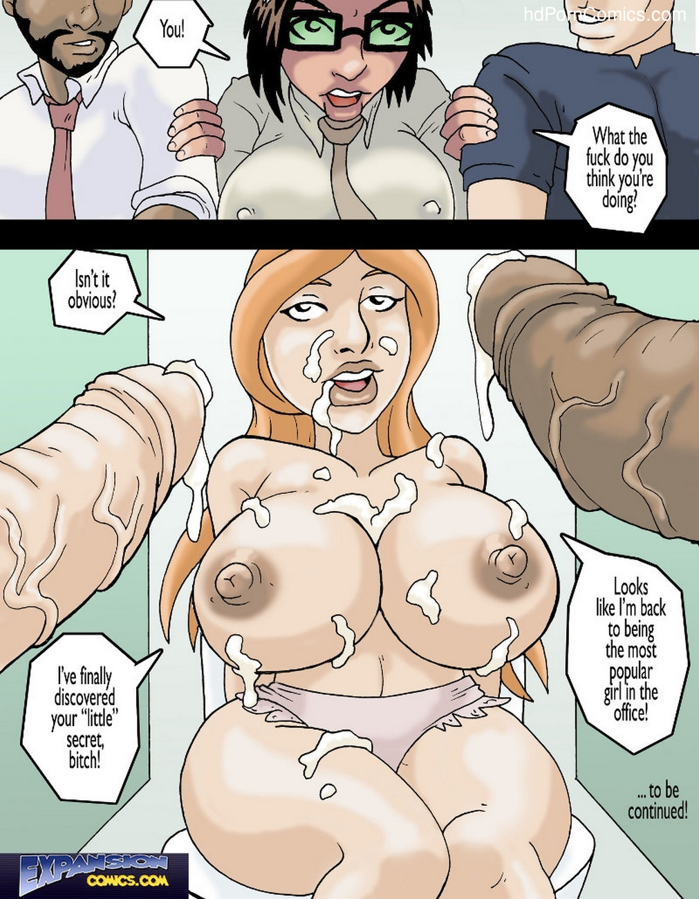 Coffee Breaks 3 Sex Comic