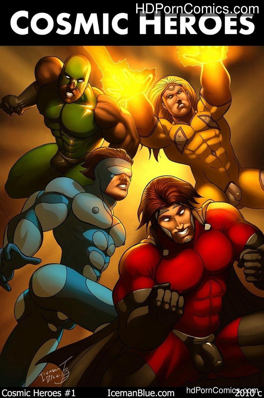 Cosmic Heroes 1 Sex Comic