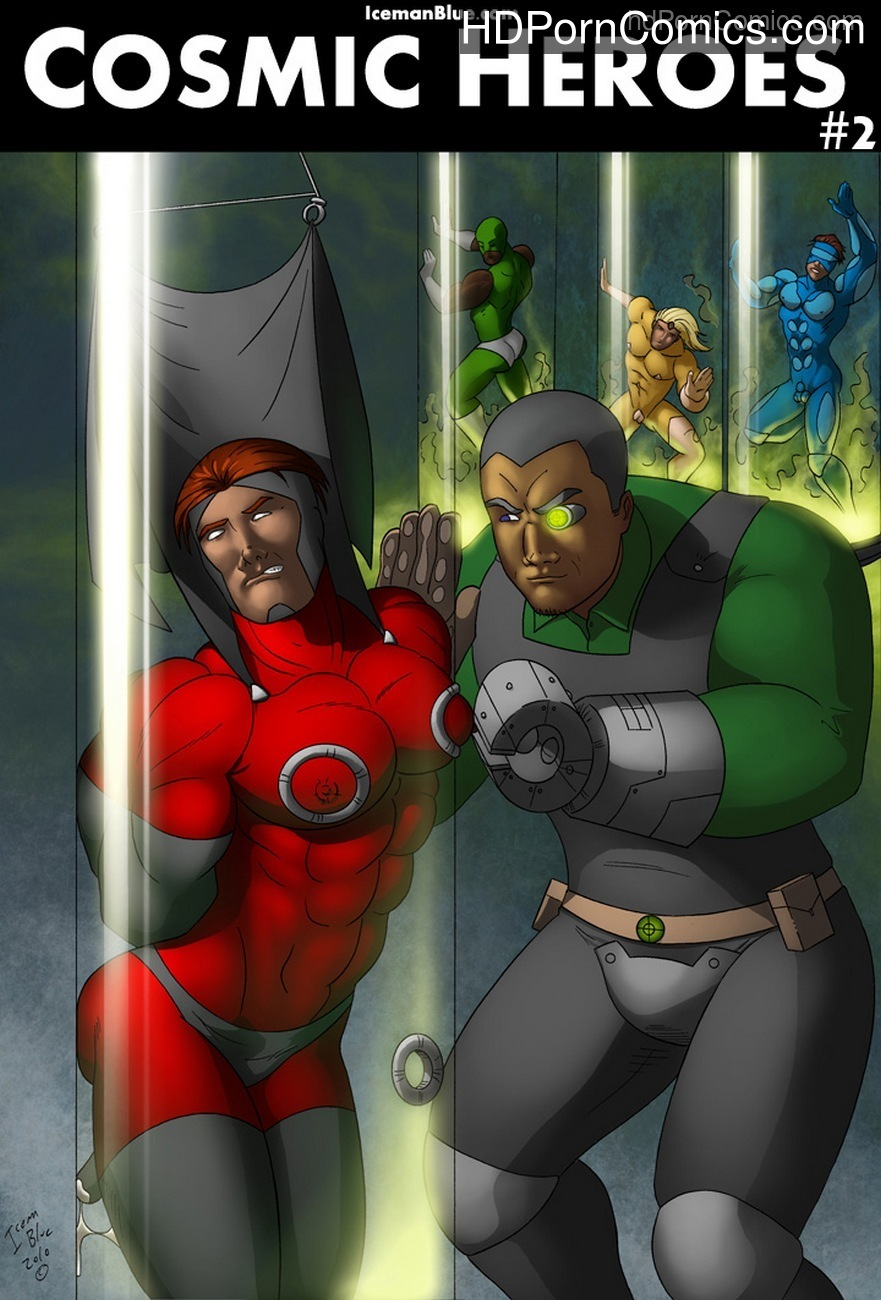 Cosmic Heroes 2 Sex Comic