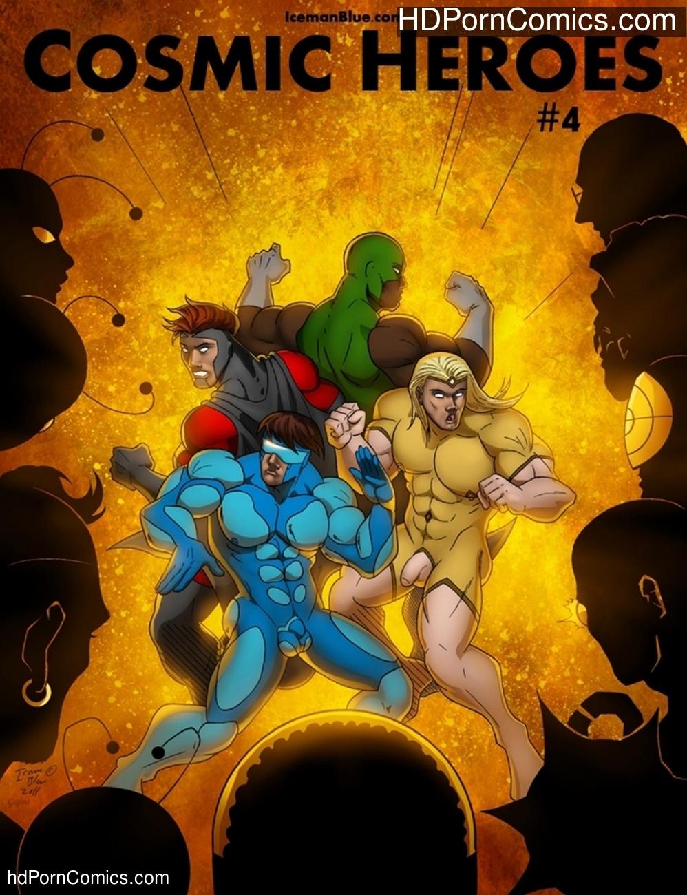 Cosmic Heroes 4 Sex Comic