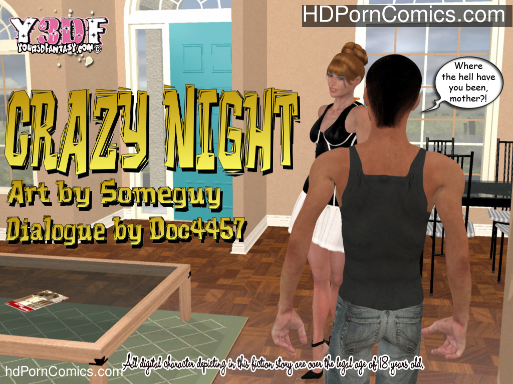 Crazy Night free Porn Comic