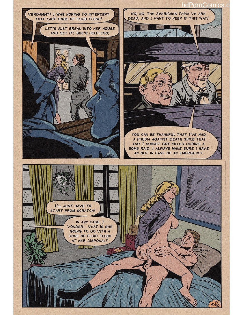 Dames In Peril Sex Comic