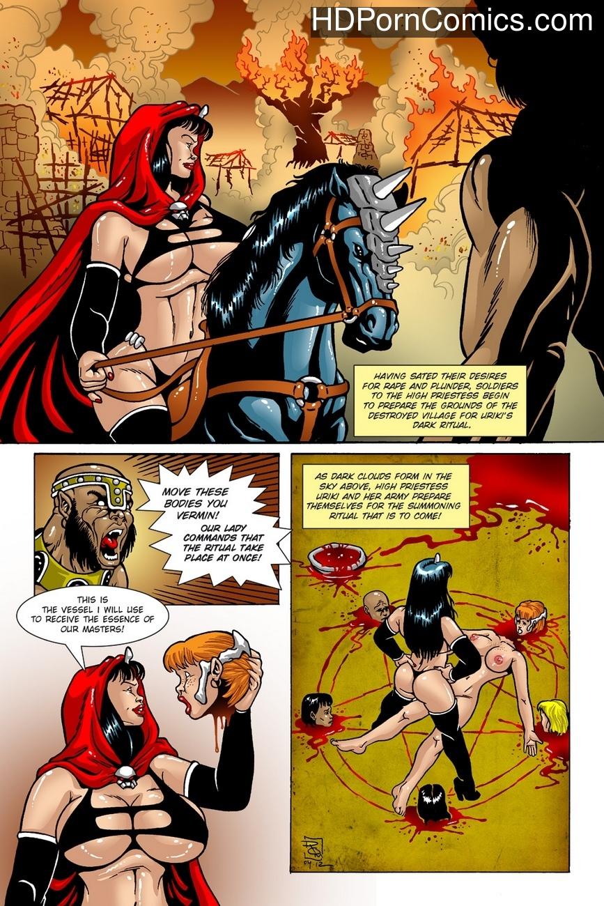 Dark Gods 1 - The Summoning 11 free porn comics