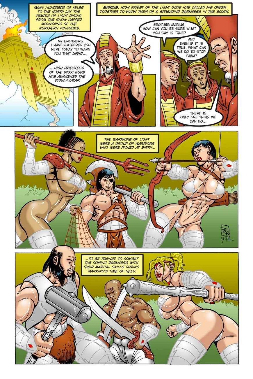 Dark Gods 1 - The Summoning 16 free sex comic