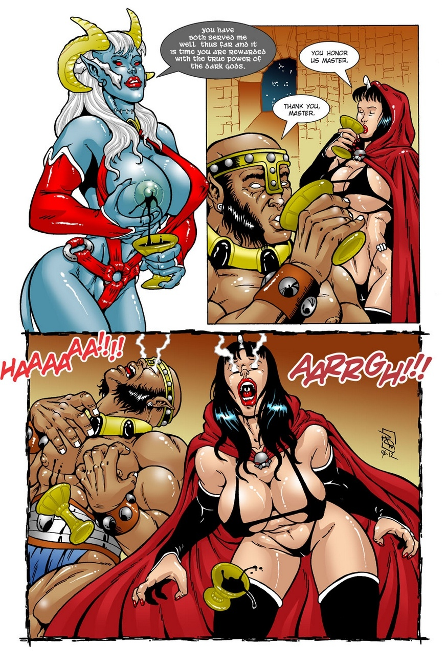 Dark Gods 1 - The Summoning 22 free sex comic