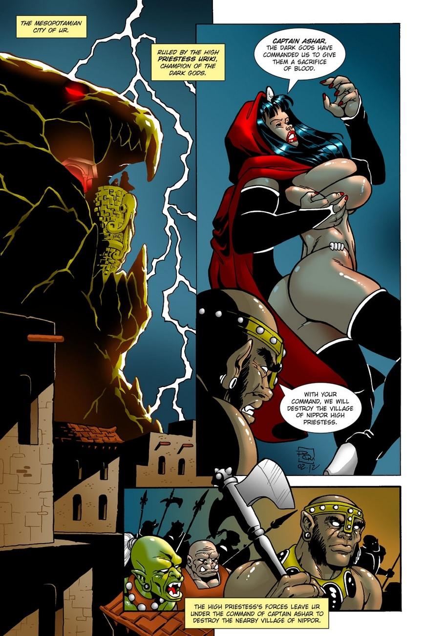Dark Gods 1 - The Summoning 6 free sex comic