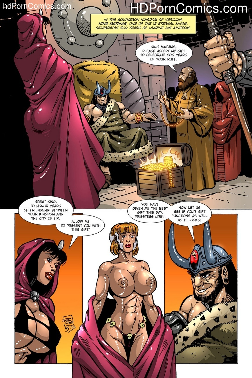 Dark Gods 2 – The Channeling comic porn