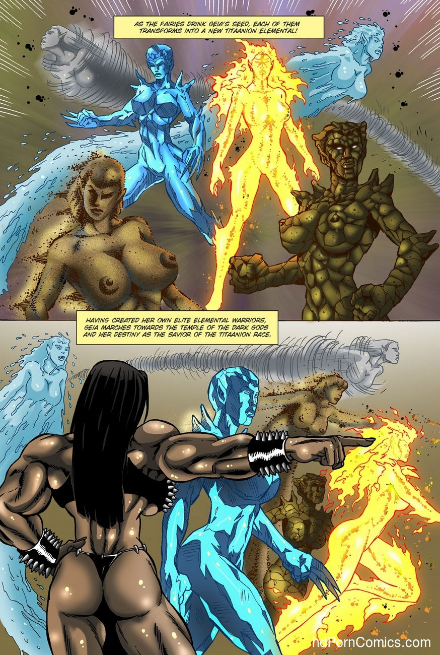Dark Gods 2 - The Channeling 24 free sex comic