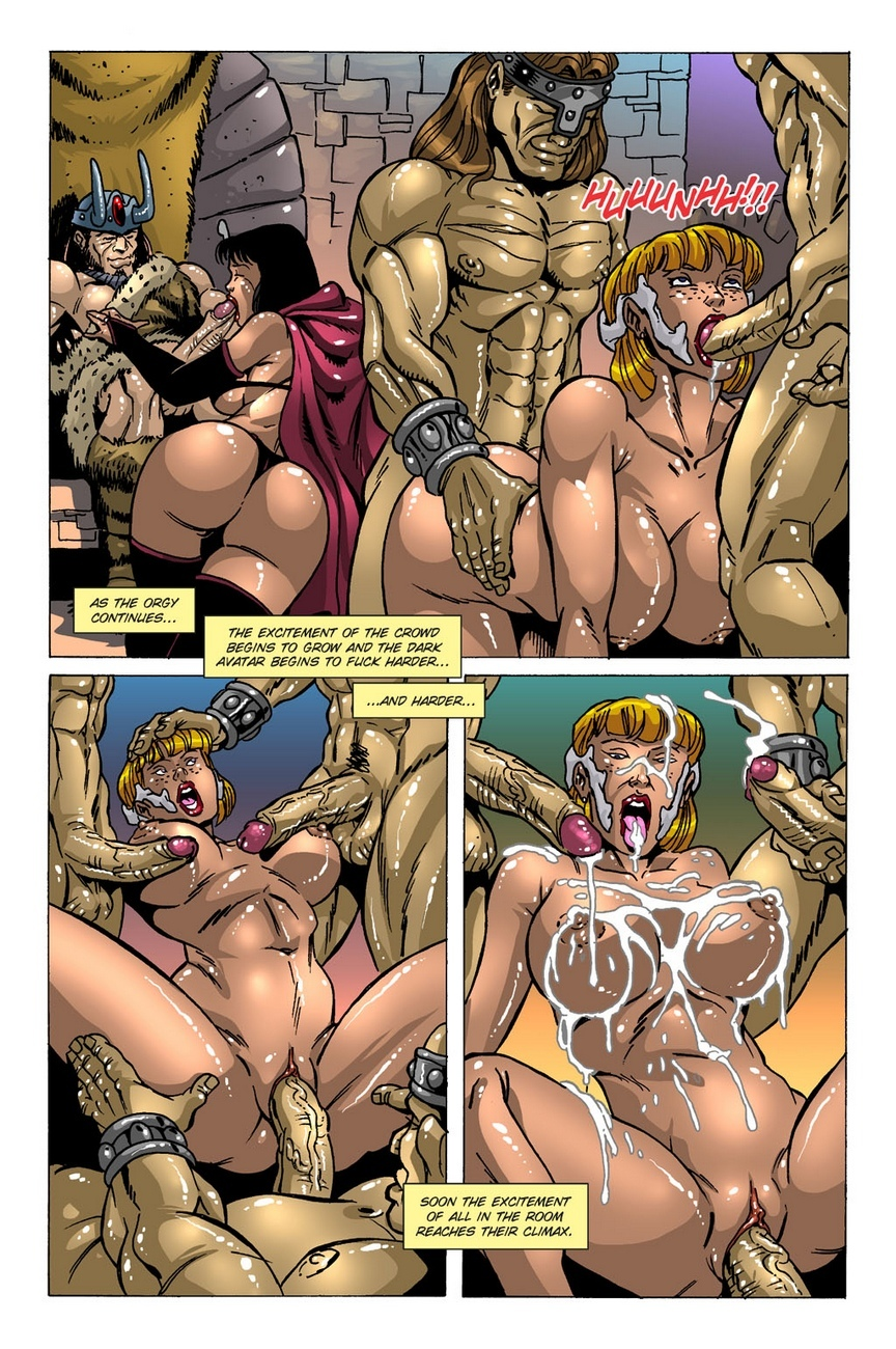 Dark Gods 2 - The Channeling 3 free sex comic