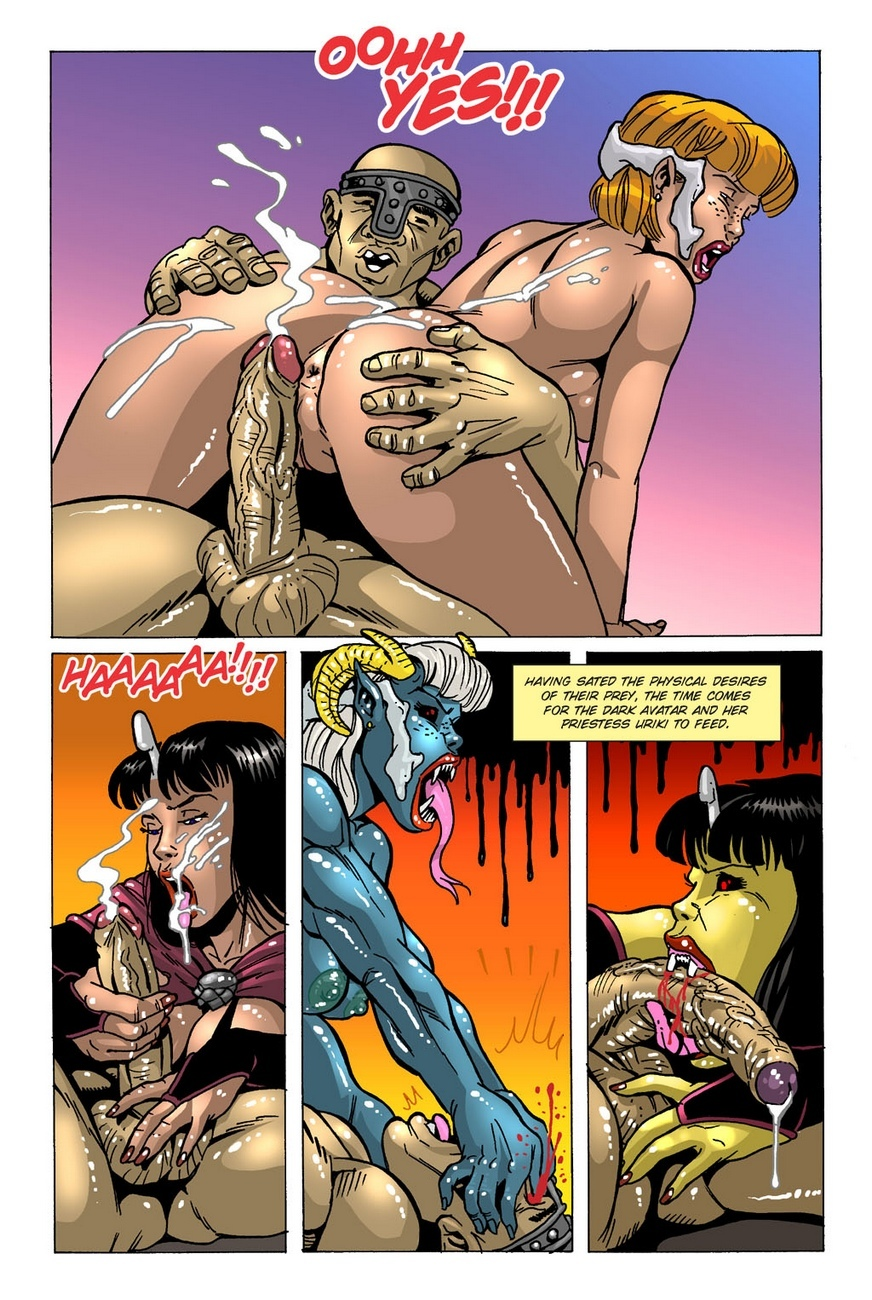 Dark Gods 2 - The Channeling 4 free sex comic