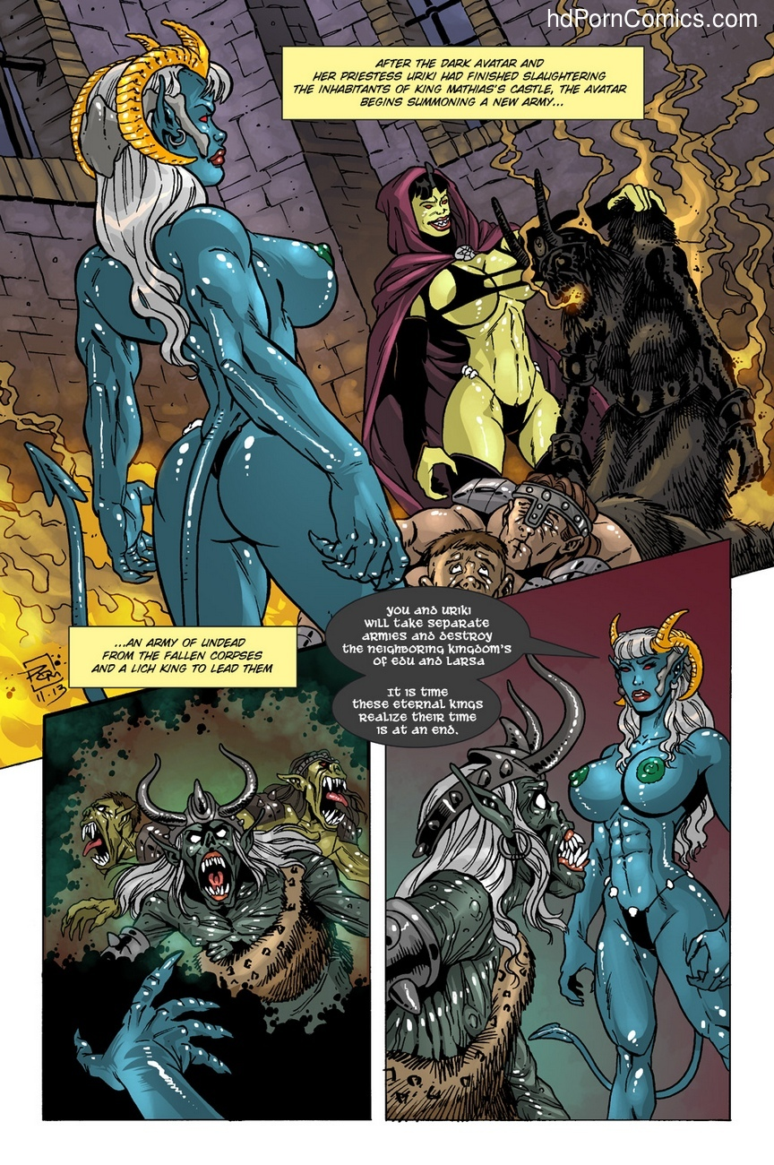 Dark Gods 2 - The Channeling 5 free sex comic