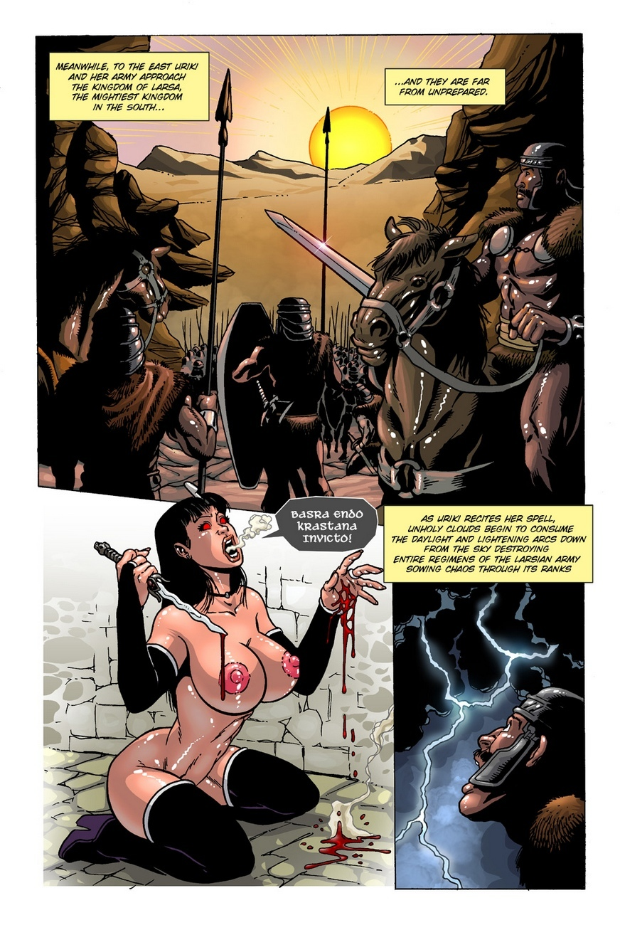 Dark Gods 2 - The Channeling 7 free sex comic