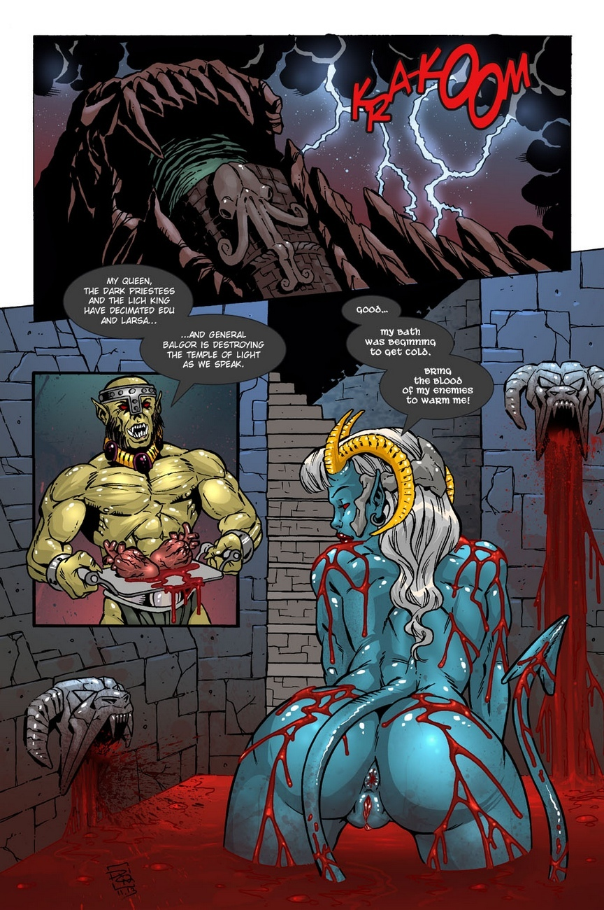 Dark Gods 2 - The Channeling 8 free sex comic