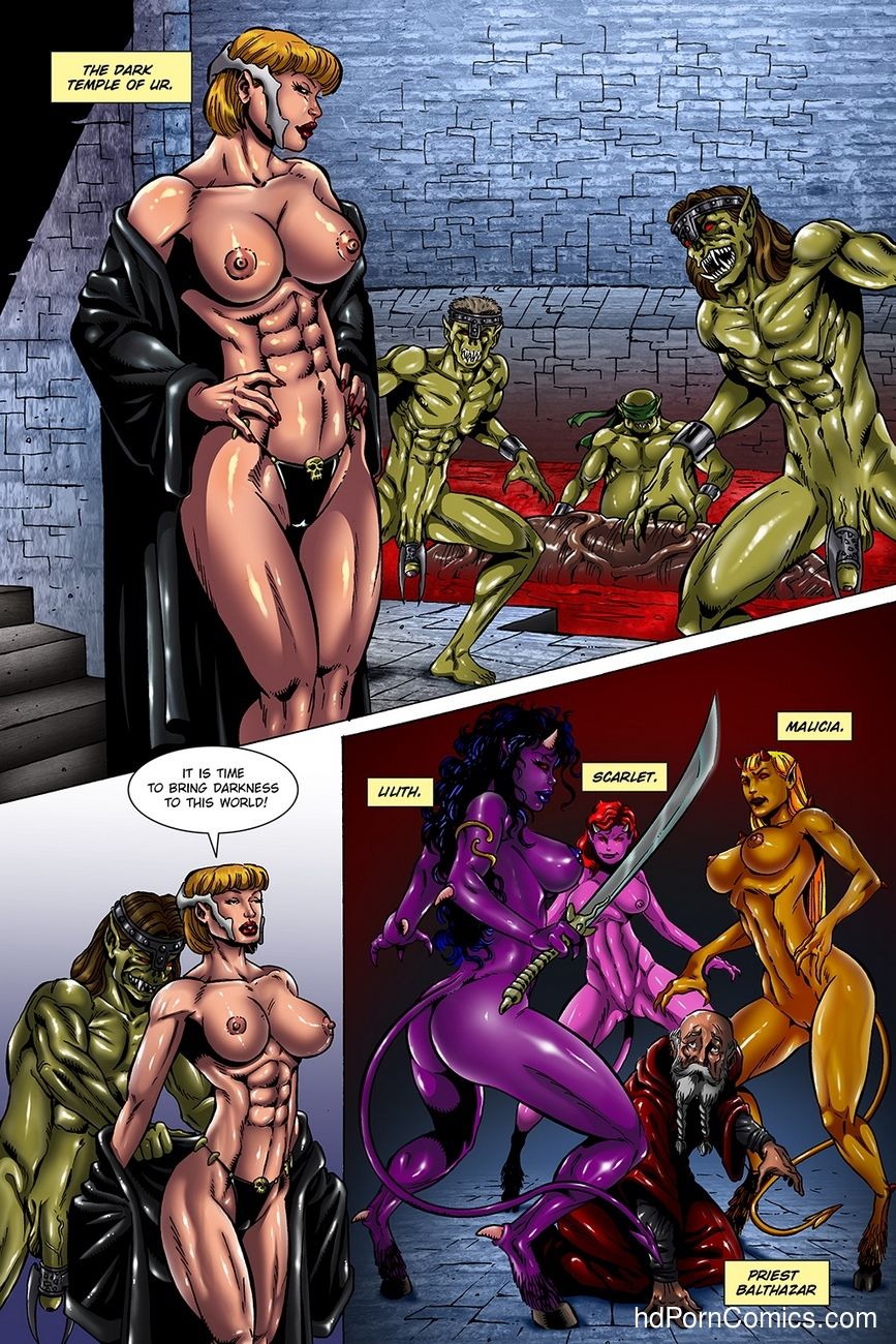 Dark Gods 3 - The Reckoning 16 free sex comic