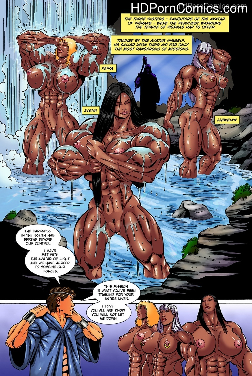 Dark Gods 3 - The Reckoning 21 free sex comic