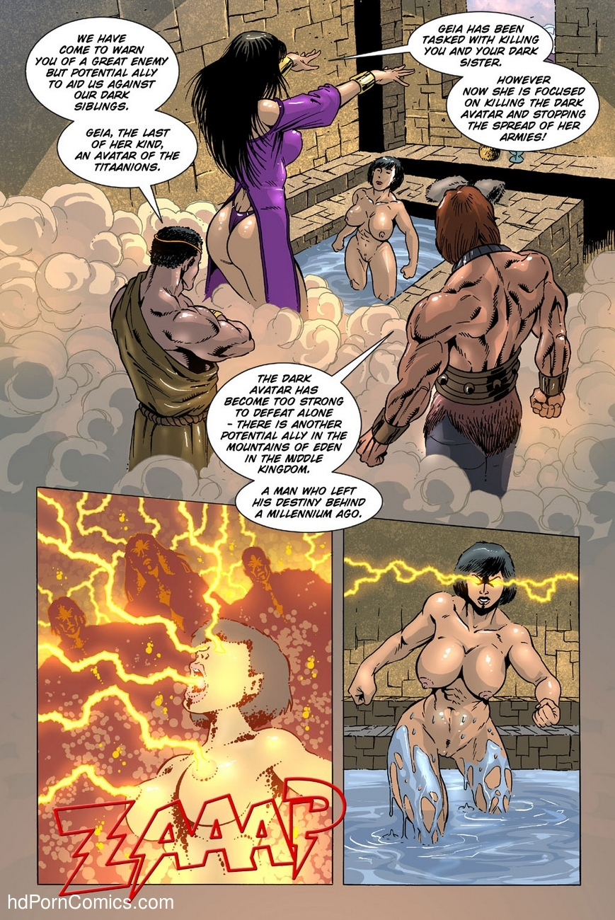 Dark Gods 3 - The Reckoning 3 free sex comic