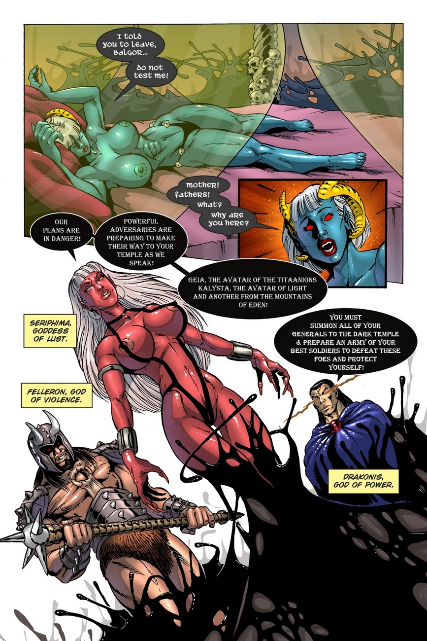 Dark Gods 3 - The Reckoning 5 free sex comic