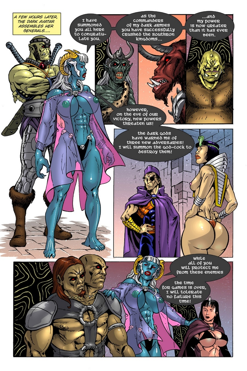 Dark Gods 3 - The Reckoning 6 free sex comic