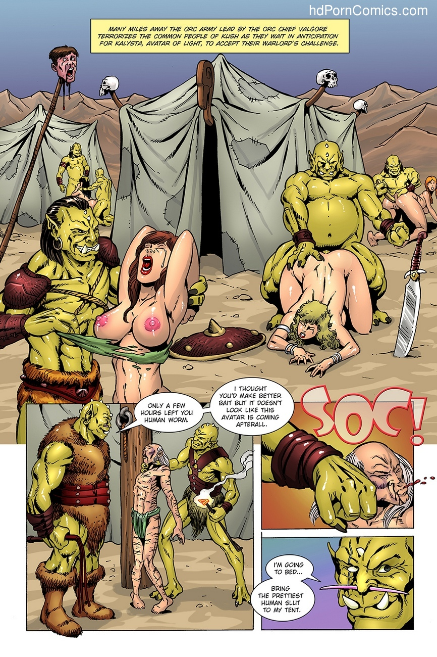 Dark Gods 3 - The Reckoning 9 free sex comic