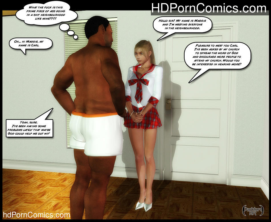 Darklord – CHRISTIAN KNOCKERS – Porncomics free Porn Comic