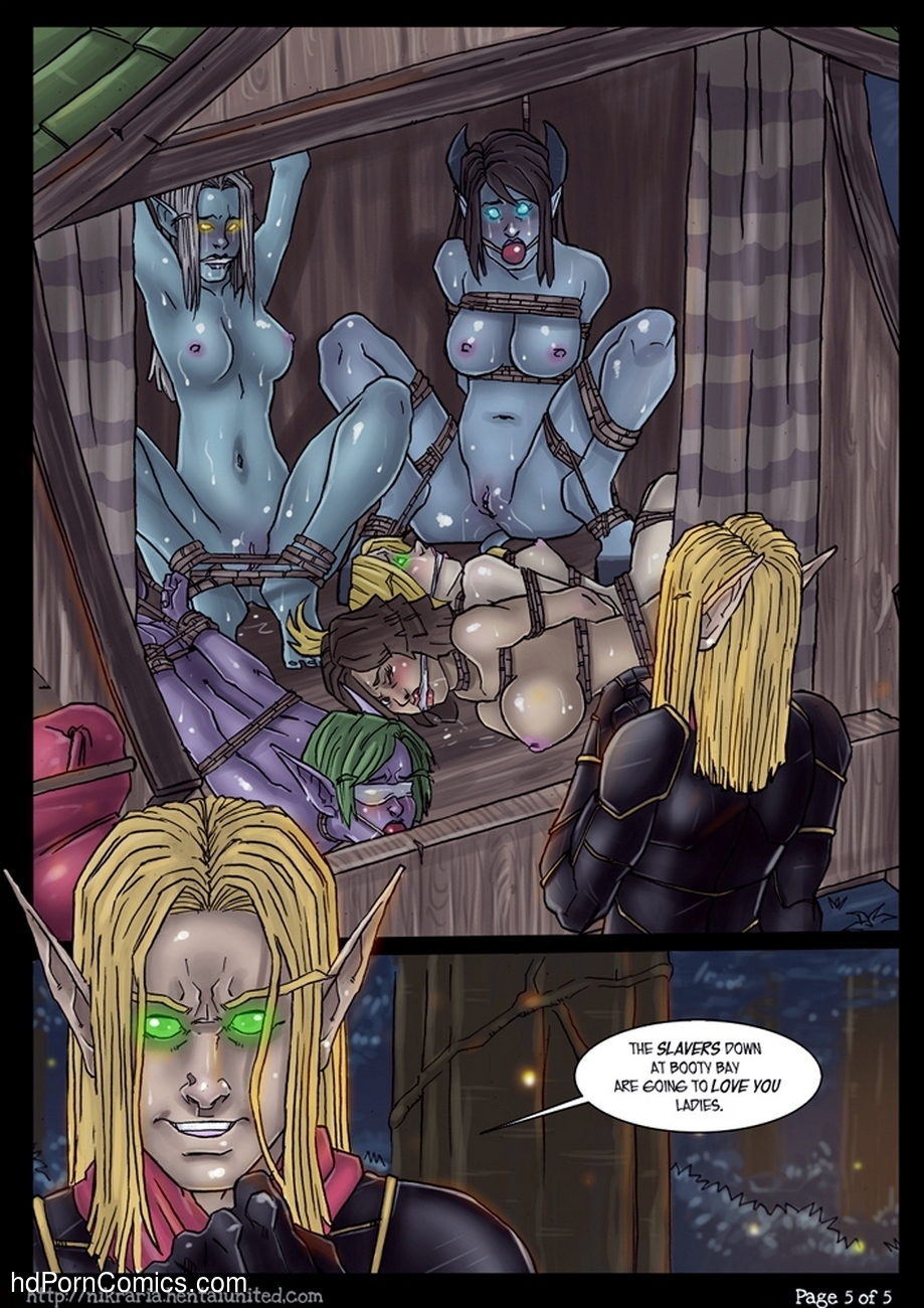 Darkness In Duskwood Sex Comic