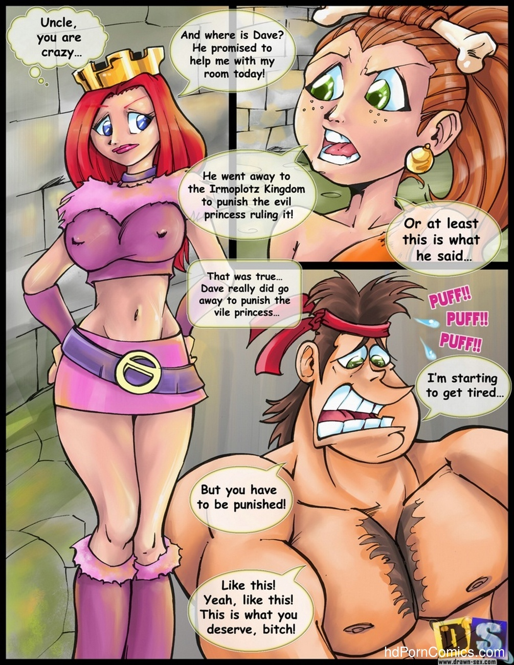 Dave the barbarian nude sex