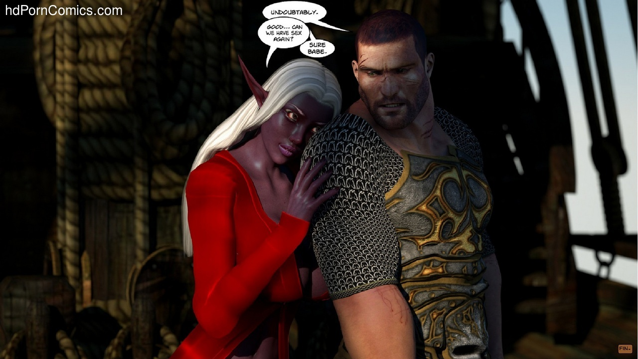 Dead Tide 1 Sex Comic
