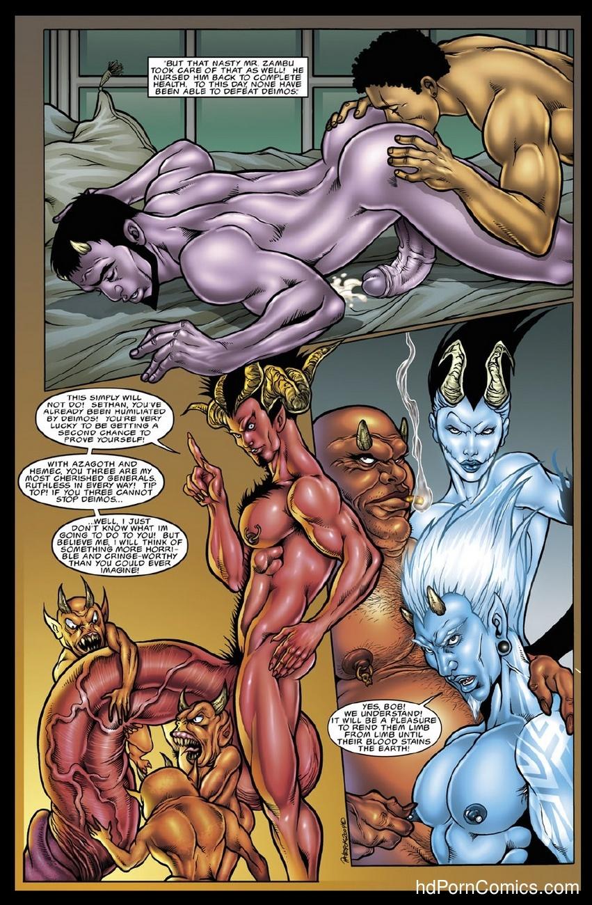 Deimos 0 Sex Comic