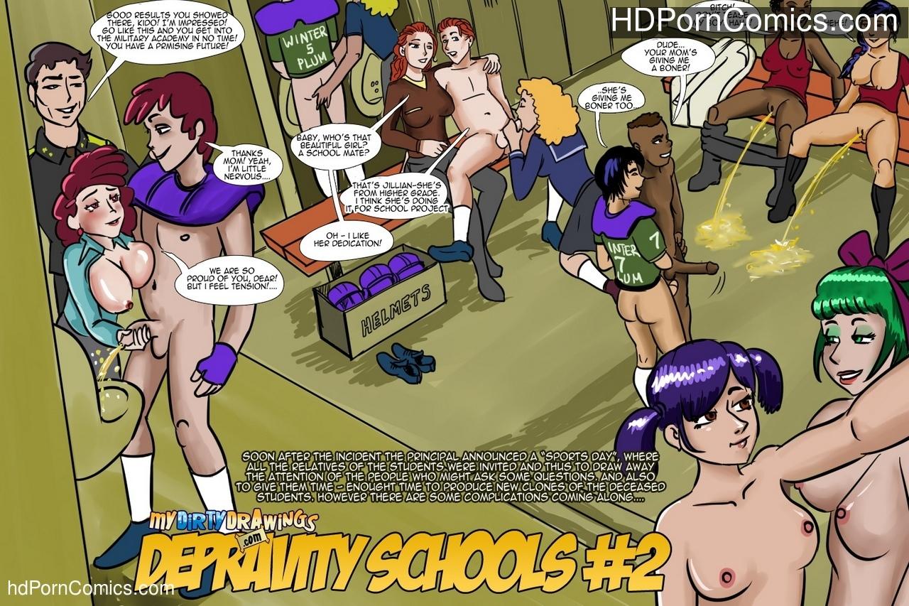 Depravity Schools 2 comic porn