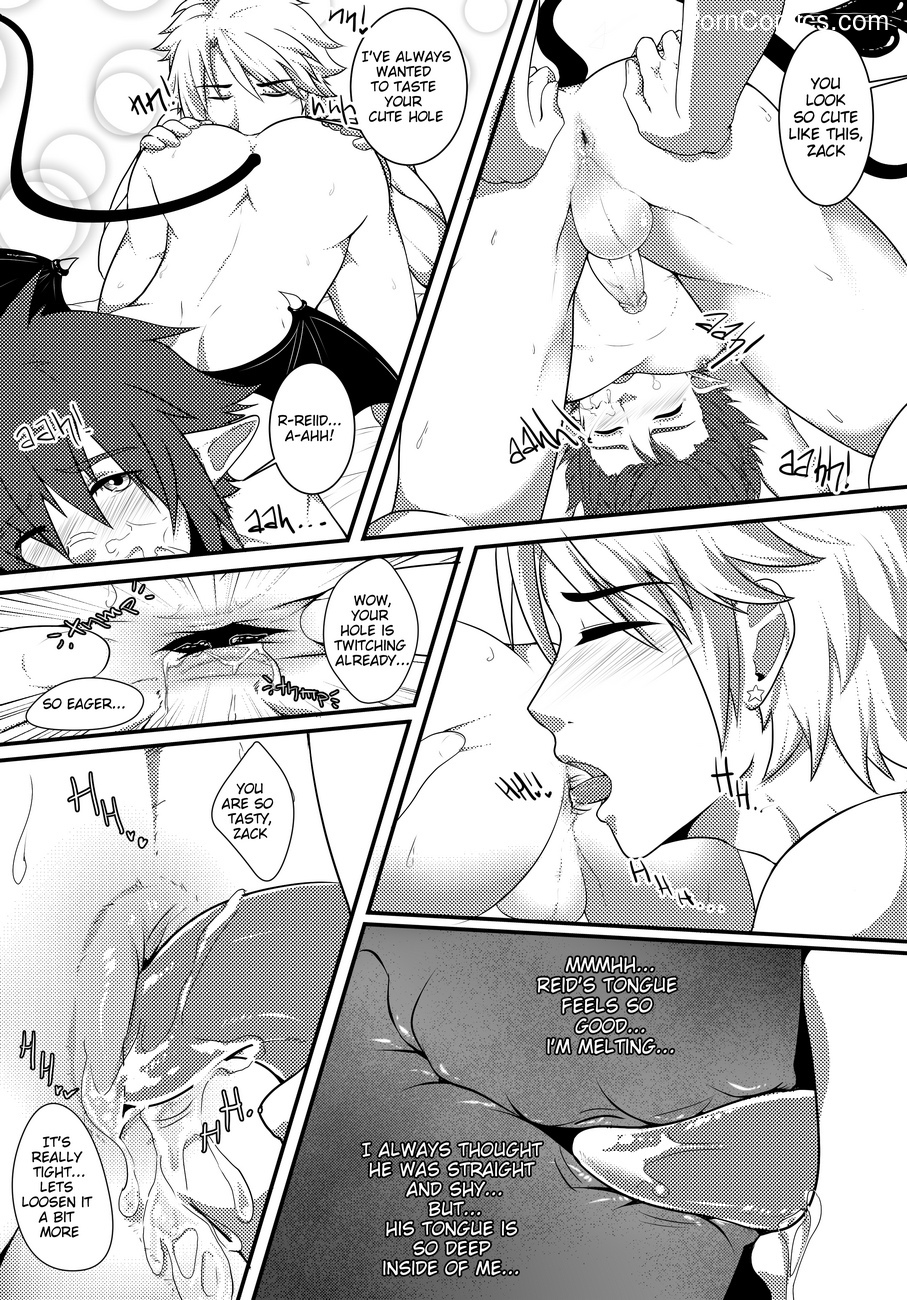 Devil's Hassle 8 free sex comic