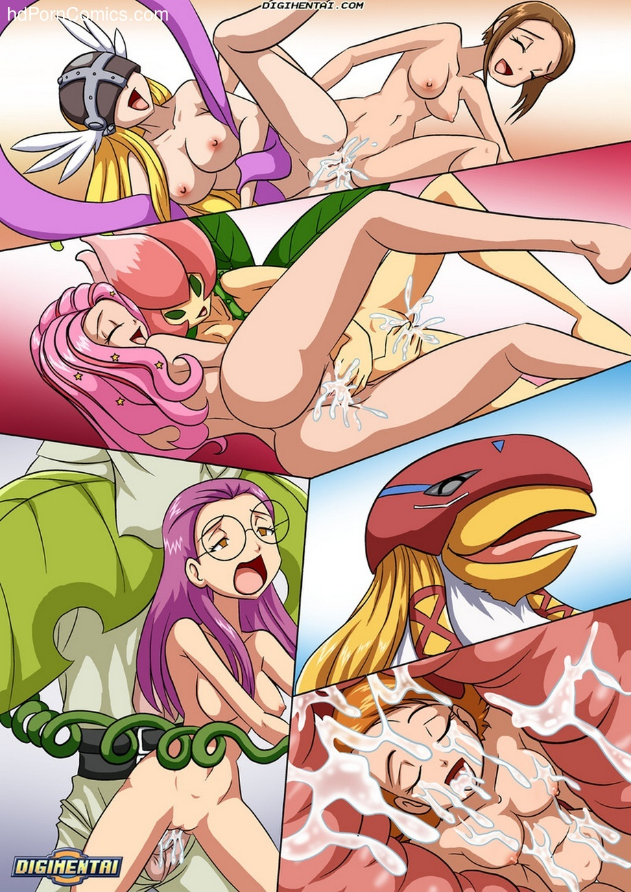 Digimon Rules 1 22 free sex comic
