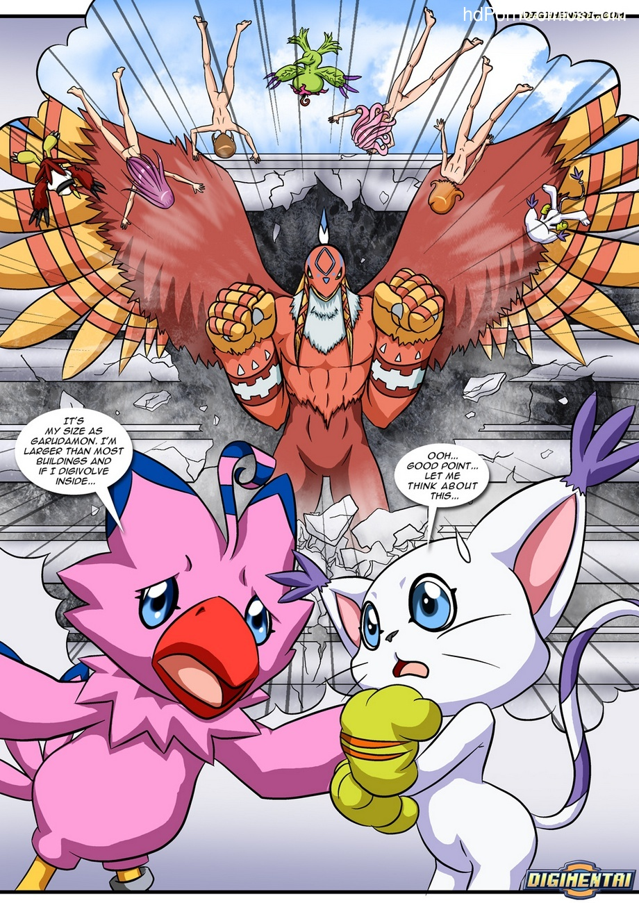 Digimon Rules 1 7 free sex comic