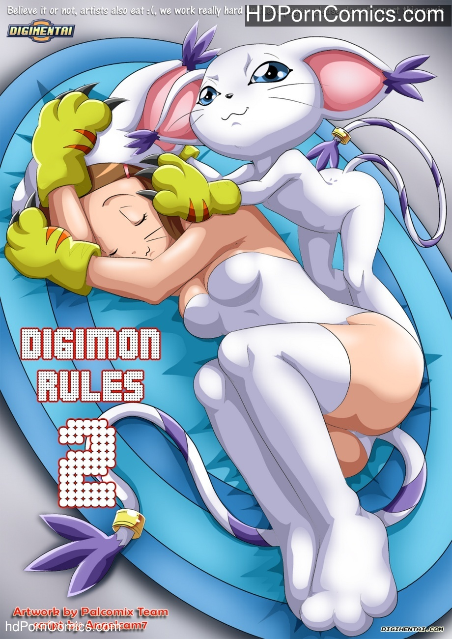 Digimon Rules 2 Sex Comic
