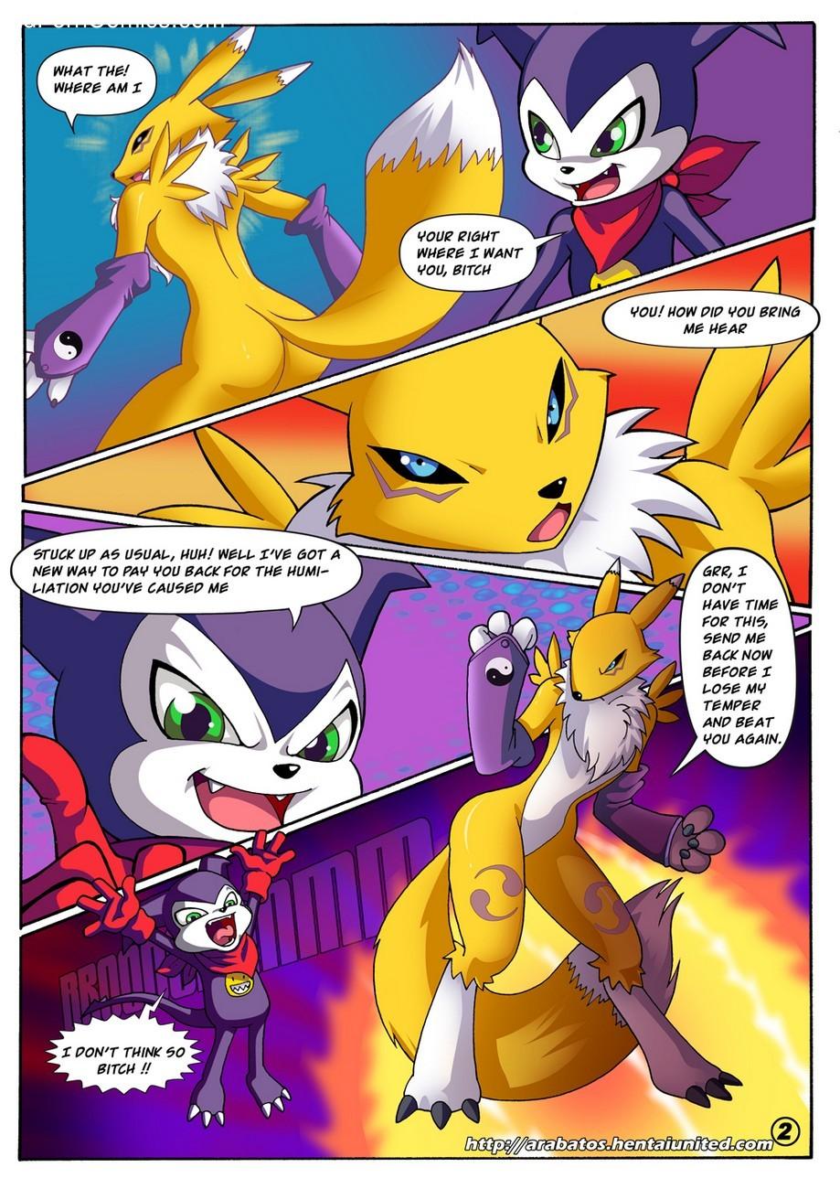 Digimon 3 free sex comic