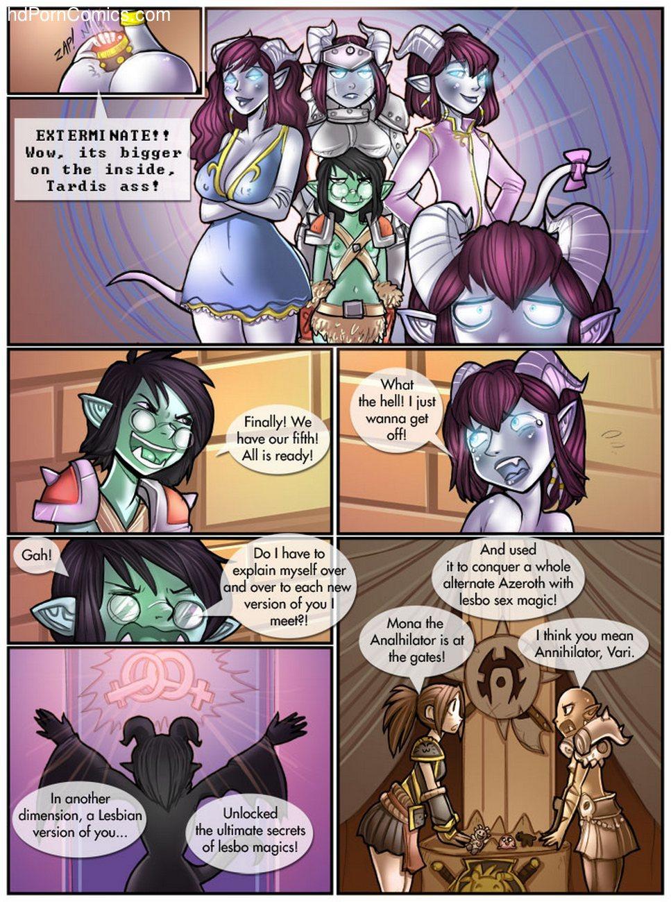 Dildo Of Doom 5 free sex comic