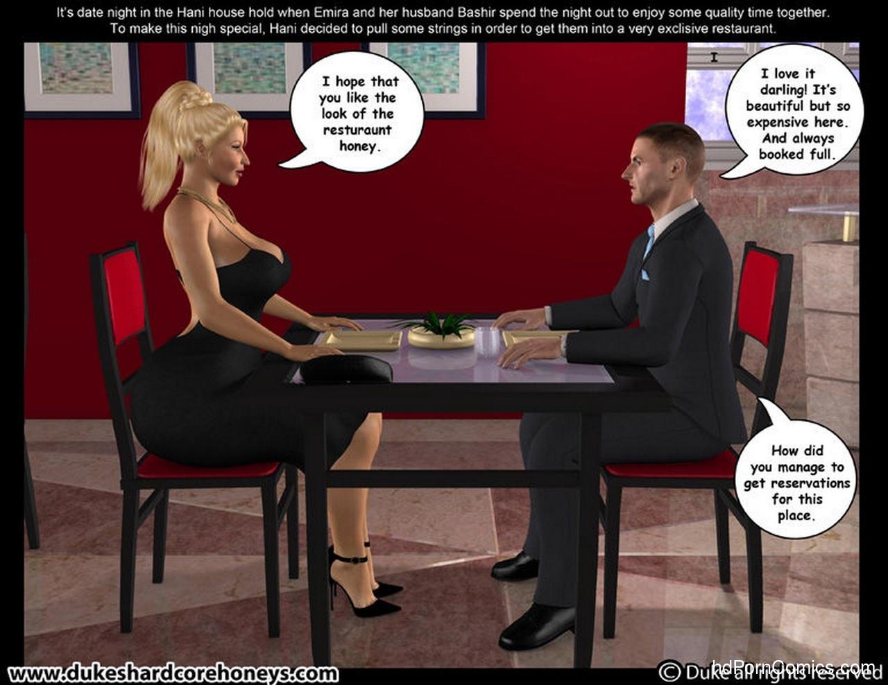 Dinner date sex
