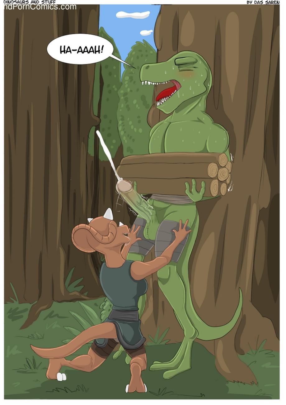 Dinosaur porn comic