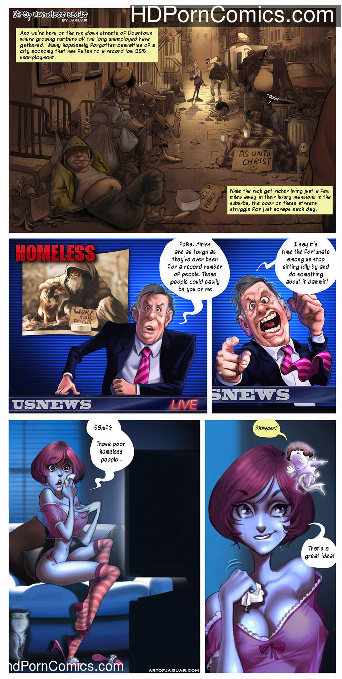 Dirty homeless Needs1 free sex comic