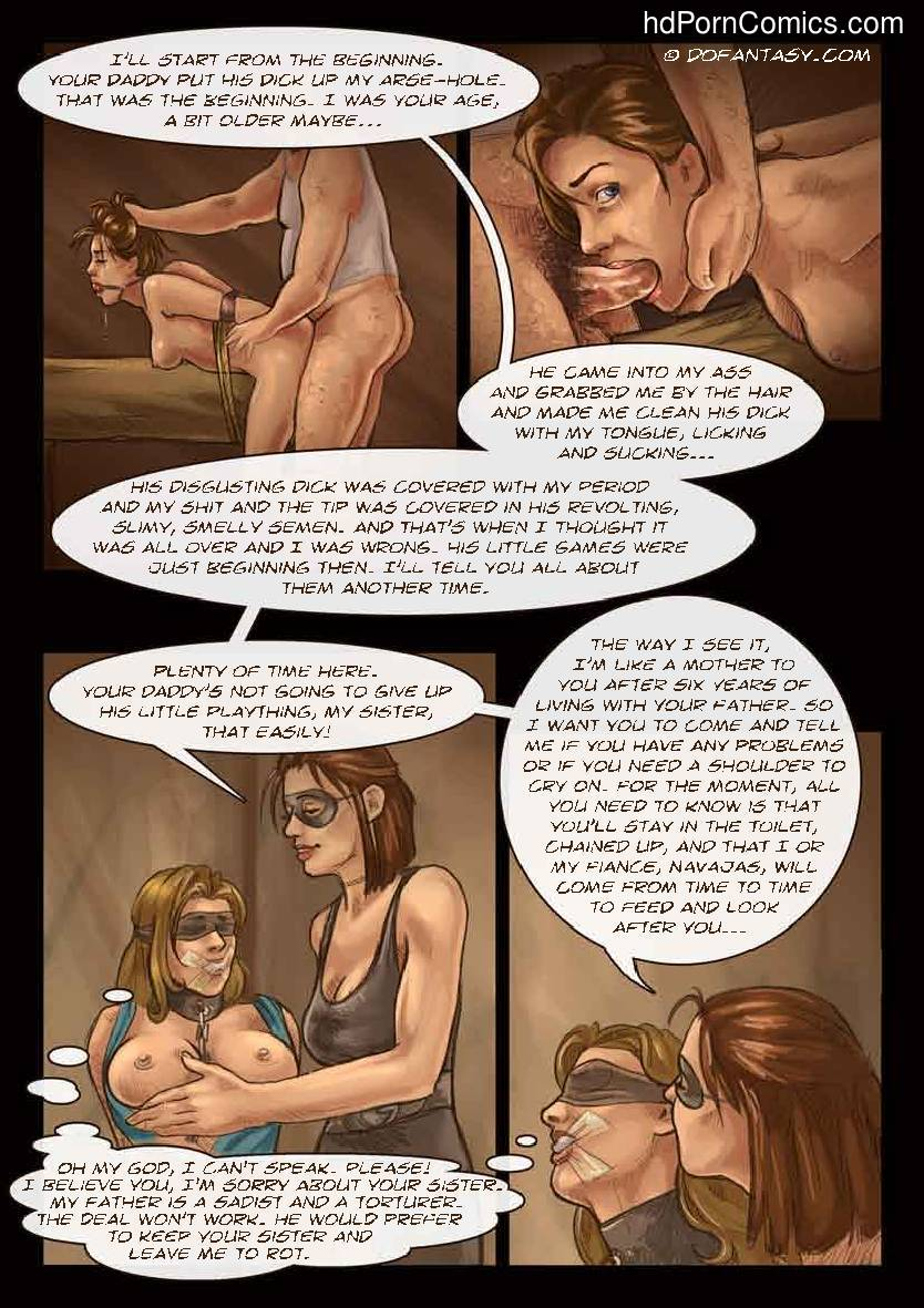 Dofantasy-The hostage 130 free sex comic