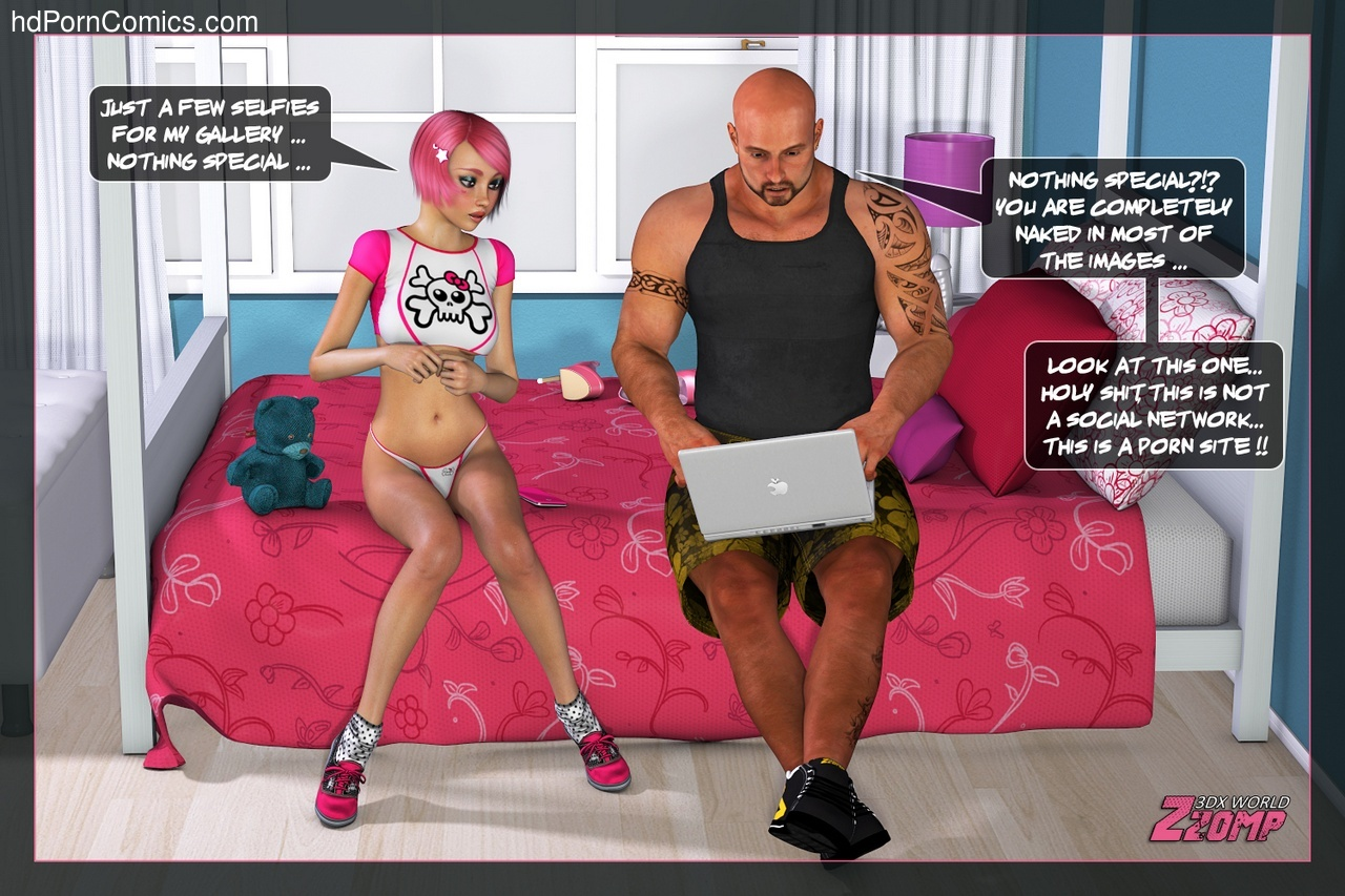 Dolly Pink Social Network 8 free sex comic