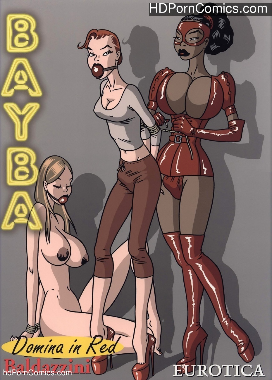 Domina In Red Sex Comic
